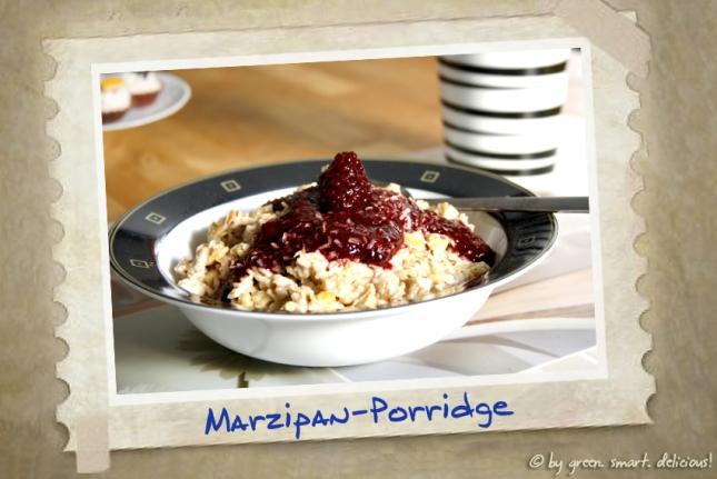 Marzipan-Porridge