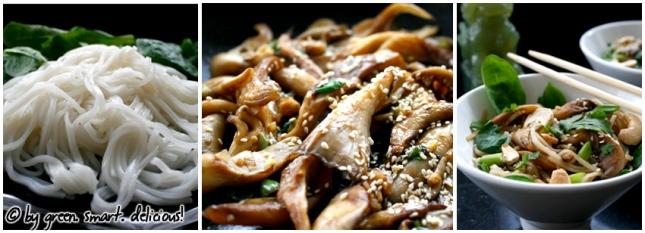 Asia-Nudelsalat mit Sesam-Austernpilzen_COLLAGE
