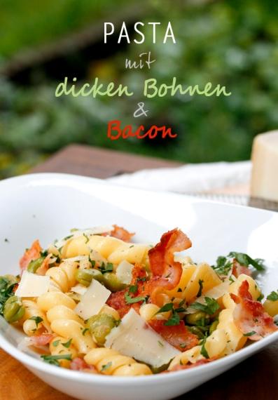 Pasta mit dicken Bohnen und Bacon_TITEL3