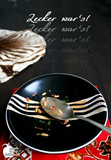 Reissalat mit dicken Bohnen und Tomaten_LECKER
